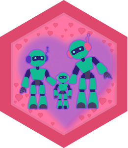 Robots Learning To Love - Robot Family